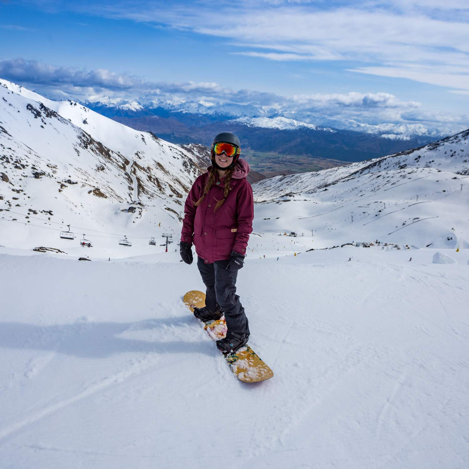 ski and snow board new zealand