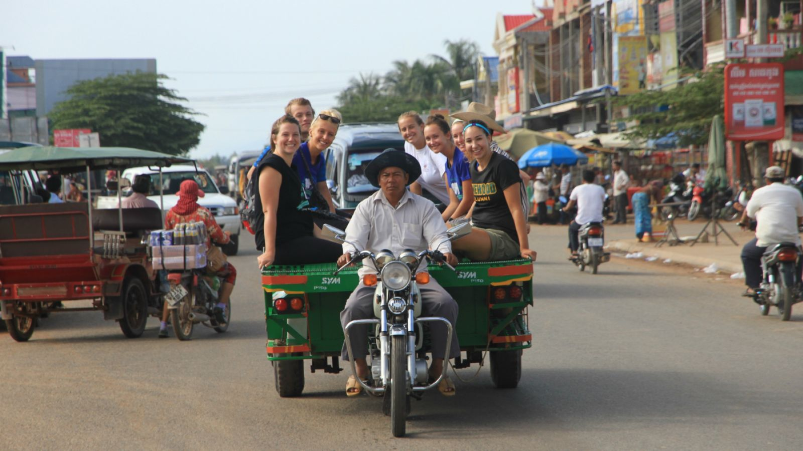 Pure Exploration cambodia service learning motorbike 1500w