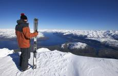 Amazing views from the Remarkables Ski Area